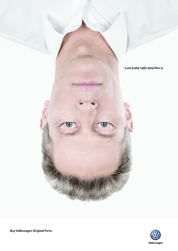 Volkswagen – Wrong faces